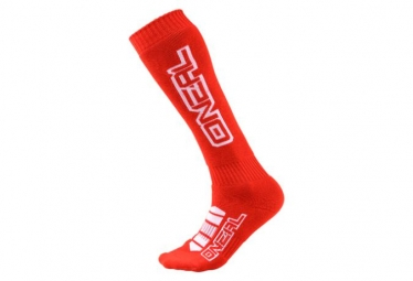 Chaussettes hautes o neal pro mx corp rouge