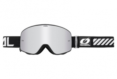 Máscara O'Neal B-50 Goggle Force  silver black