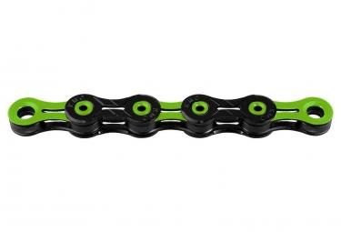 Chaine kmc dlc11 118 maillons 11v noir vert