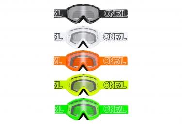 Goggles O'Neal B-Zero Goggle clear multicolor