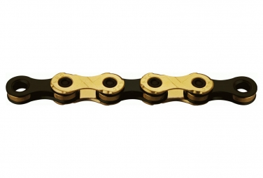 KMC Chain X12 Ti-N 126 links 12S ​​Gold/Black