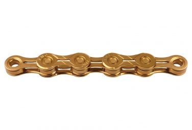 KMC X10EL Chain 114 Links Gold