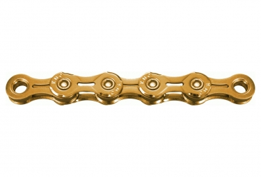 KMC X11EL Ti-N Chain 118 Links Gold