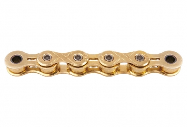 Chaine KMC X101 1/2'' x 1/8'' 110 maillons Single Speed/BMX Or