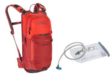 Mochila Evoc Stage 6l Orange Chili Red   Evoc Hidratacion Vejiga 2l