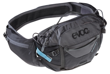Evoc Hip Pack Pro 3L Hydration Belt Black Carbon Grey
