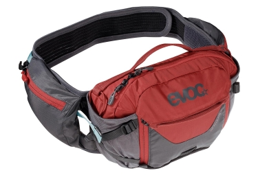 Evoc Hip Pack Pro 3L Cinturón de hidratación Carbon Grey Chili Red