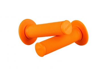 Paire De Grips O'neal Diamond Mx Orange Fluo