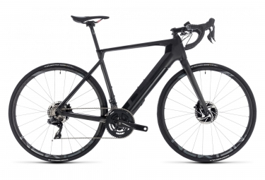 Velo de route electrique cube agree hybrid c 62 slt disc aksium black shimano duraac