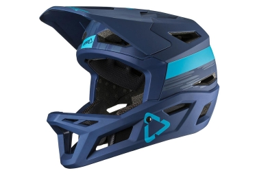 Leatt DBX 4.0 V19.1 Full Face Helmet Ink Blue