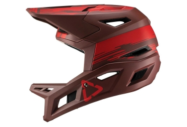 Leatt DBX 4.0 V19.1 Full Face Helmet Ruby Red