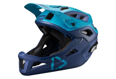 Leatt DBX 3.0 Enduro V19.1 Helmet with Removable Chinstrap Ink Blue