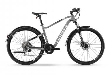 Bicicleta Cicloturística Mujer Haibike SEET HardSeven 3.5 Street Gris