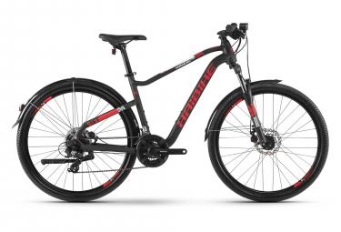 Bicicleta Cicloturística Mujer Haibike SEET HardSeven 2.5 Street Noir / Rouge