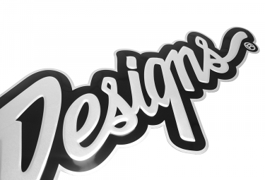 Plaque Métal Troy Lee Designs Signature 3D 47x11 cm