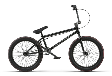 Bmx freestyle wethepeople justice graphite black 2018 20 pouces 145 155 cm