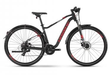 Bicicleta Cicloturística Haibike SEET HardNine 2.5 Street Noir / Rouge