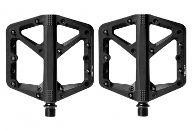 Pair of pedals CRANKBROTHERS STAMP 1 Black