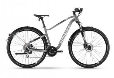 Bicicleta Cicloturística Mujer Haibike SEET HardNine 3.5 Street Gris