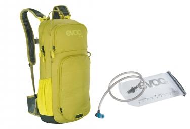 Evoc CC 16L Rucksack Moosgrün + Evoc Trinkblase 2L