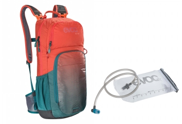 Evoc CC 16L Zaino Chili Red Petrol + Evoc Hydration Bladder 2L