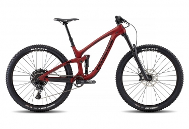 Velo tout suspendu transition sentinel carbon 29 sram nx eagle 12v rouge 2019 l 175