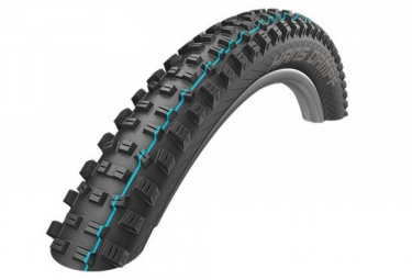 Pneu vtt schwalbe hans dampf 27 5 plus tubeless ready souple snakeskin apex addix speedgrip e bike e 25 2 80