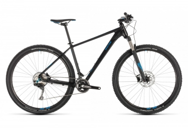 Cube MTB Hardtail Reaction Pro Shimano XT 11s 29 Nero / Blu 2019