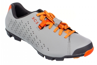 Chaussures de velo shimano sh xc500sl gris orange 40
