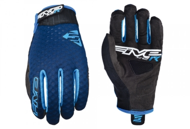 Five XC-R Long Gloves Blue Black