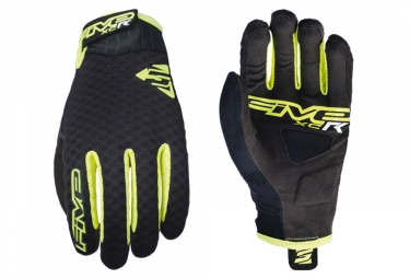 Five XC-R Long Gloves Fluo Yellow Black