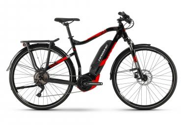 VTC Électrique Haibike SDURO Trekking 2.0 Shimano Deore 10V 500 Noir / Rouge 2019