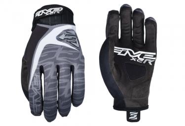 Five XC-R Replica Long Gloves Black Grey