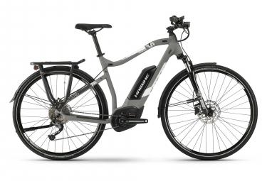 Haibike SDURO Trekking 3.0 2019 Hybrid Touring Bike Alivio 9s Grey