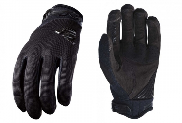 Five XC Phantom Long Gloves Black