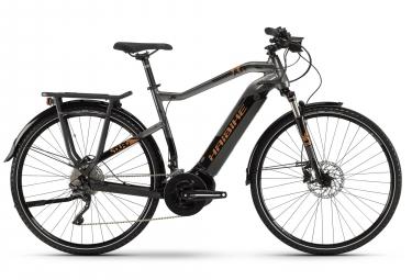 Haibike SDURO Trekking 6.0 2019 Hybrid Touring Bike 28'' Shimano XT 11v Grey Black