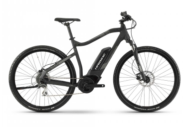Haibike SDURO Cross 1.0 Hybrid Bike Gris