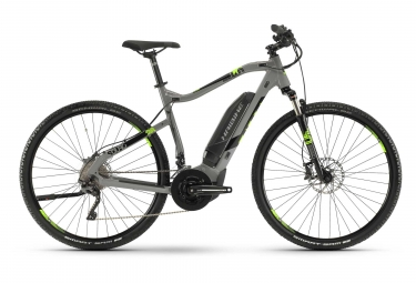 Haibike SDURO Cross 4.0 2019 Hybrid Touring Bike 28'' Shimano XT 10v Grey