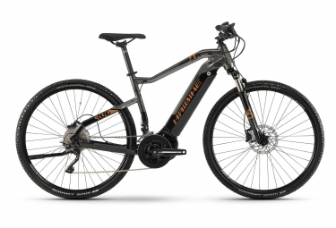 Bicicleta Híbrida Eléctrica Haibike SDURO Cross 6.0 28'' Gris / Noir