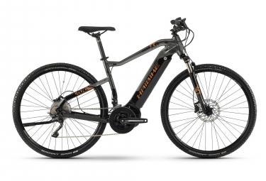 Haibike SDURO Cross 6.0 2019 Hybrid Touring Bike 28'' Shimano XT 10v Grey Black