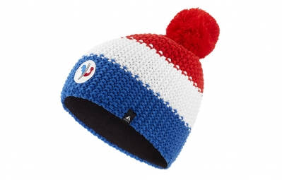 Odlo Bonnet Chunky Knit Fan France Bleu Blanc Rouge