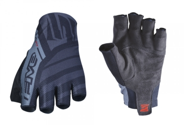 Five RC2 Short Gloves Black Grey