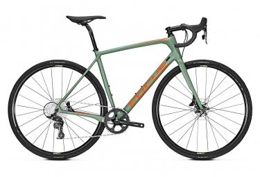 Focus Gravel Bike Paralane 8.9 GC Sram Apex 11s Verde / Arancione 2019