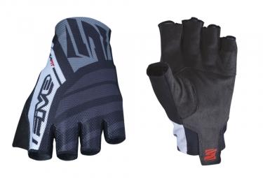 Five RC2 Short Gloves Black White