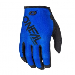 Oneal Mayhem Two Face Long Gloves Blue
