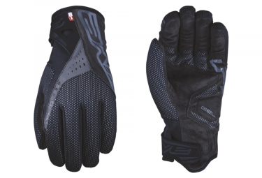 Five RC-W1 Winter Gloves Black