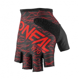 Gants Courts Oneal Wired Rouge Noir