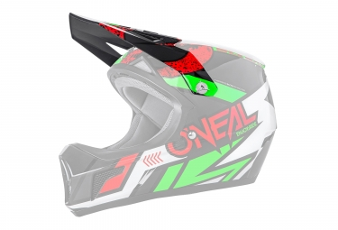 O'Neal Sonus Strike Spare Visor Red Green