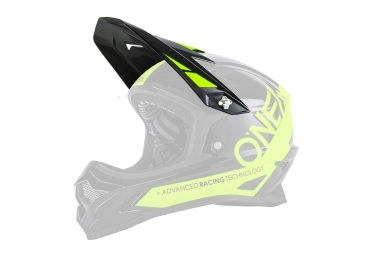 O'Neal Backflip RL2 Spare Visor Black Neon Yellow