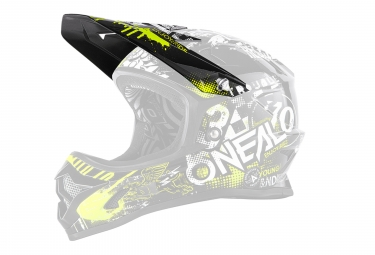 O'Neal Backflip RL2 Youth Spare Visor Black Neo Yellow